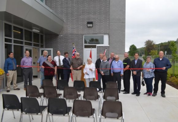 The City of Owen Sound held a formal ribbon cutting ceremony to mark the substantial completion of the Owen Sound WWTP upgrade.